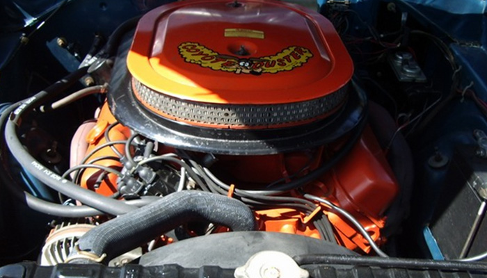 1970 Road Runner Engine