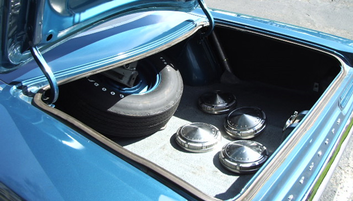 Road Runner Engine Trunk